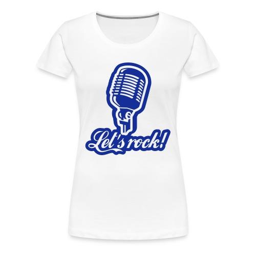 rock&you - Camiseta premium mujer