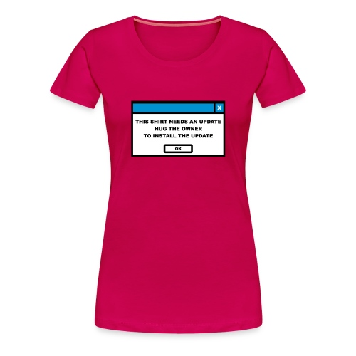 T-shirt med tryck - Premium-T-shirt dam