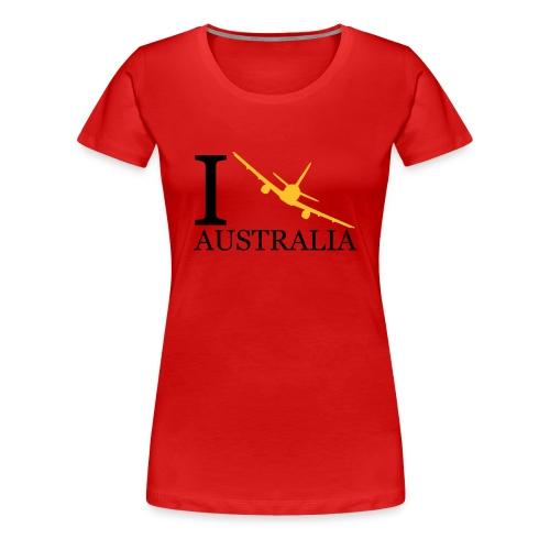 Klassisk T-skjorte til dame - Premium T-skjorte for kvinner