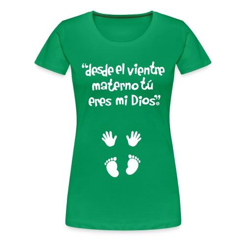 Pro-Vida Mujer - Camiseta premium mujer