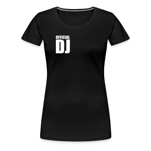 DJ - Naisten premium t-paita