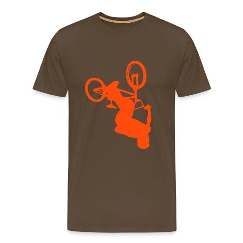 Backflip Brown/Orange - T-shirt Premium Homme