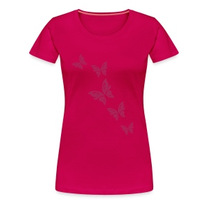 Shirt Schmetterlinge - Frauen Premium T-Shirt