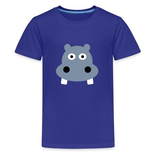 kids Hippo - Teenager Premium T-shirt