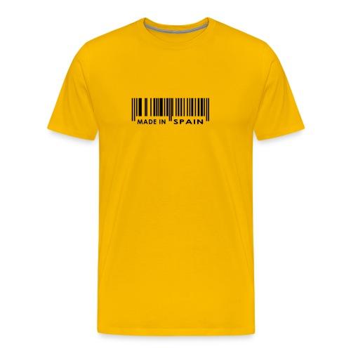 Made in España - Camiseta premium hombre