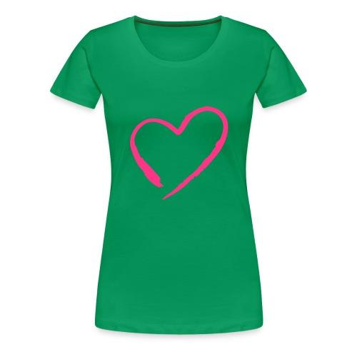 Mon coeur - T-shirt Premium Femme