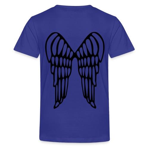 Well Fed (Purple) - Teenage Premium T-Shirt