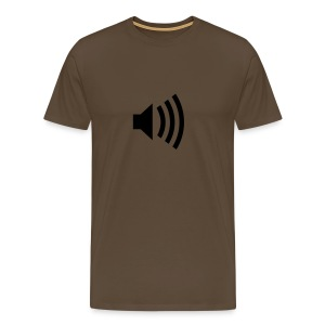 Speaker - t shirt  - Men's Premium T-Shirt