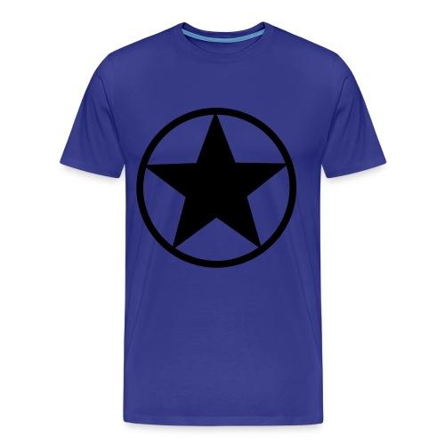BLACK STAR - Camiseta premium hombre