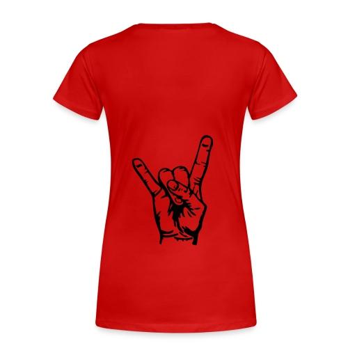 -1- - Frauen Premium T-Shirt