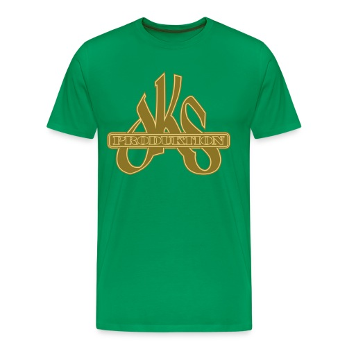 Shirt 'DKS Produktion' - khaki - Männer Premium T-Shirt