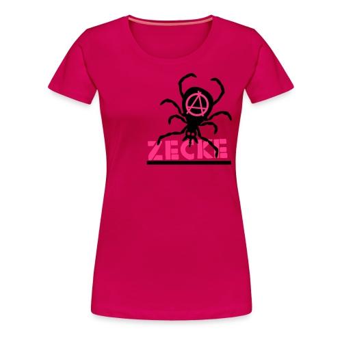 Zecke - pink girlie - Frauen Premium T-Shirt