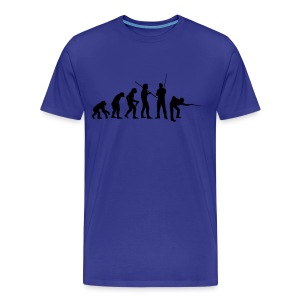 Snooker Evolution - Men's Premium T-Shirt