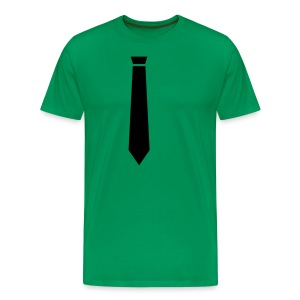 neck tie free - Men's Premium T-Shirt