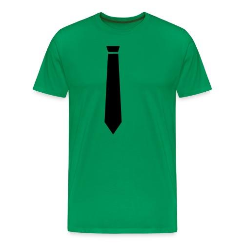 neck tie free - Men's Premium T-Shirt