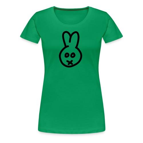 Bunny - green girlie - Frauen Premium T-Shirt