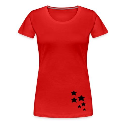 Stars for Girls - Frauen Premium T-Shirt