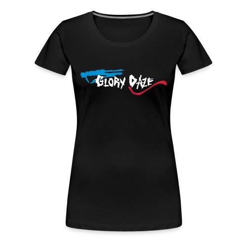 Girlz-Shirt, Druck vorne und hinten - Frauen Premium T-Shirt