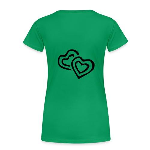 T-shirts mit Herzen - Frauen Premium T-Shirt