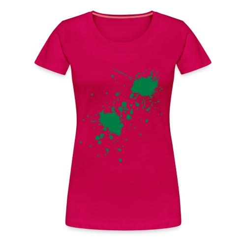 -gespritzt :D ! - Frauen Premium T-Shirt