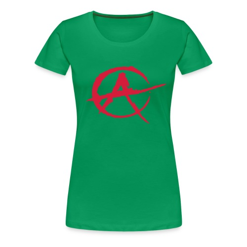 A Girl - Frauen Premium T-Shirt