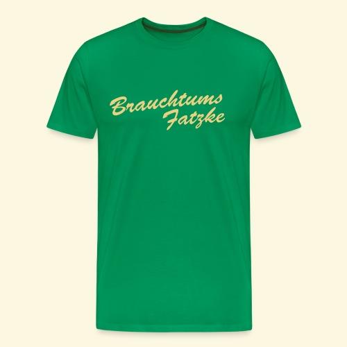 Jäger Shirt Brauchtumsfatzke - Männer Premium T-Shirt