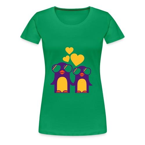 Pingu Love - Frauen Premium T-Shirt