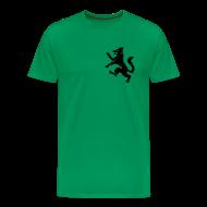 T-skjorter ~ Premium T-skjorte for menn ~ T-shirt Gråbein