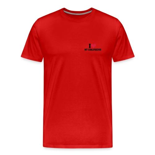 Girlfriend-shirt - Männer Premium T-Shirt