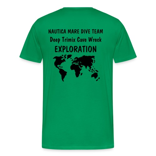 NMDT WORLD EXPLORATION - Maglietta Premium da uomo