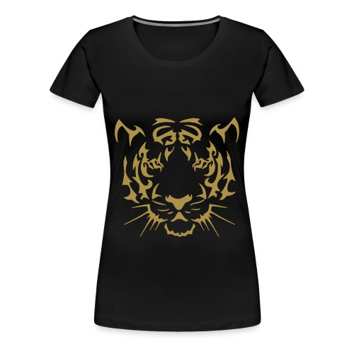 LE TIGRE RODE - T-shirt Premium Femme