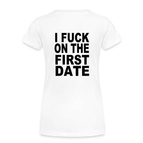 I fuck - Premium T-skjorte for kvinner