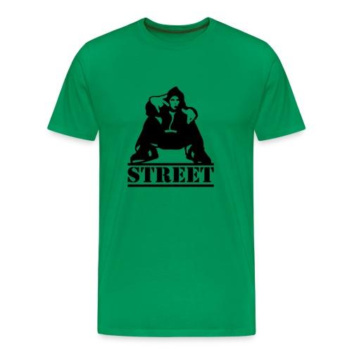 Street Herre Basis - Herre premium T-shirt