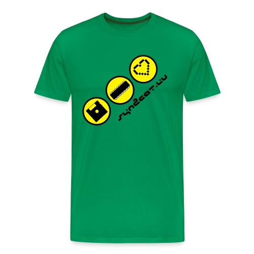 disc chip love (green edition) - Men's Premium T-Shirt
