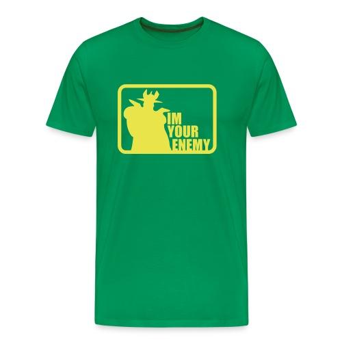 IM YOUR ENEMY - Camiseta premium hombre