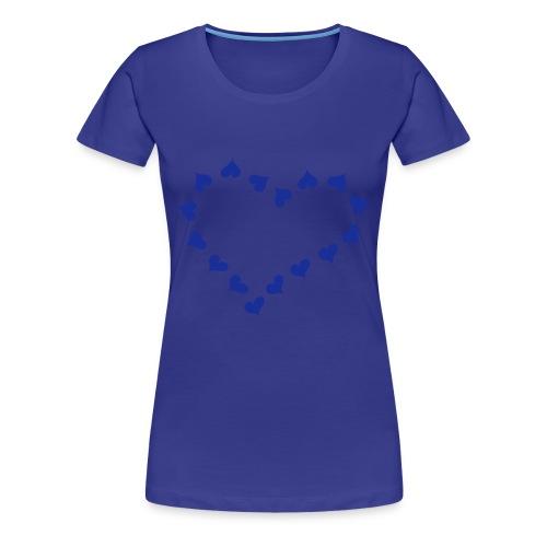 maglietta cuori - Maglietta Premium da donna