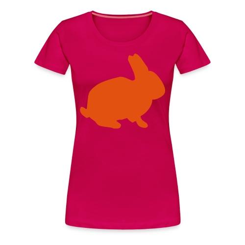 osterhase orange - Frauen Premium T-Shirt