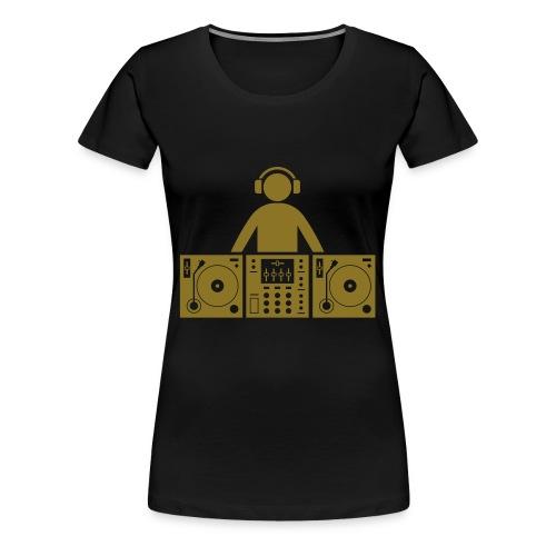 Snatch Air DJ - T-shirt Premium Femme