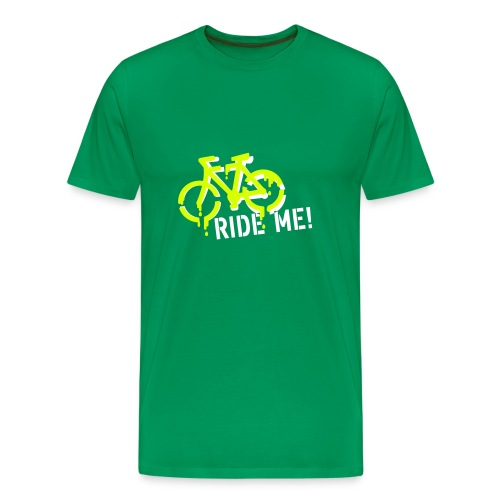 ride me mens tshirt classic - Men's Premium T-Shirt