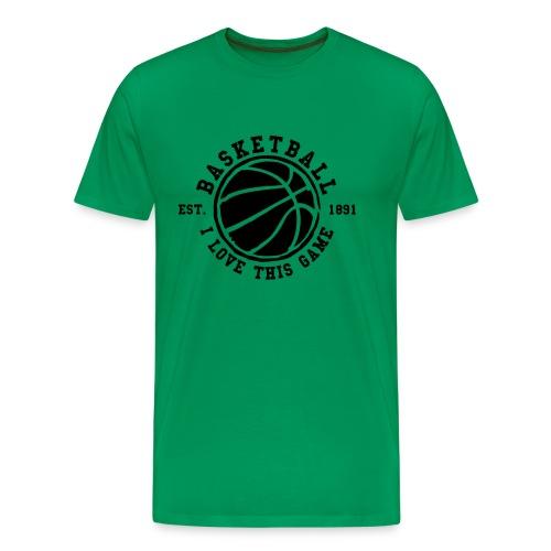 Basketball - Camiseta premium hombre