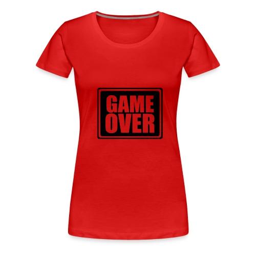 Game over - Premium T-skjorte for kvinner