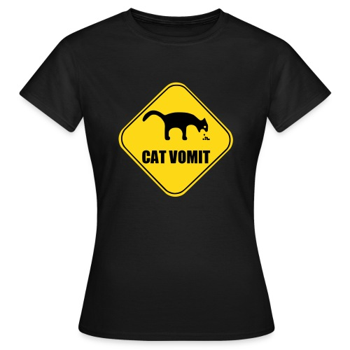 Cat Vomit Girlie - Frauen T-Shirt