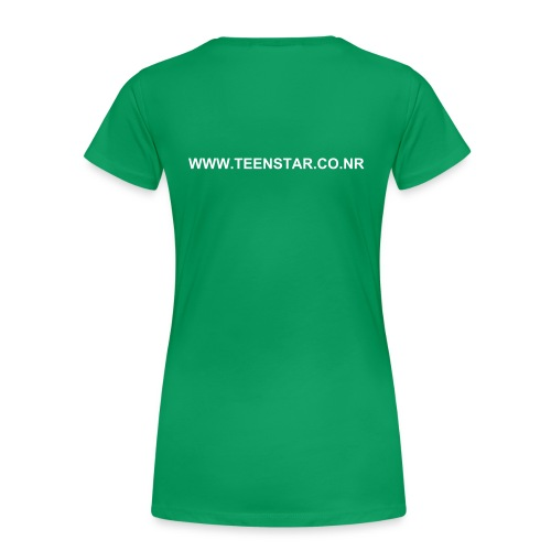 Basic Female T-Shirt  (Text also on Back) - Women's Premium T-Shirt