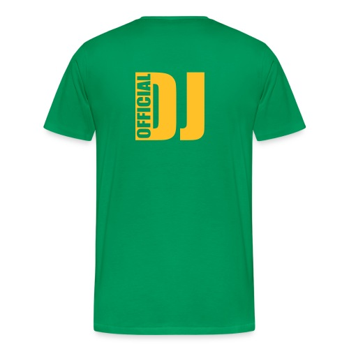 Official DJ with HeadPhone - T-shirt Premium Homme