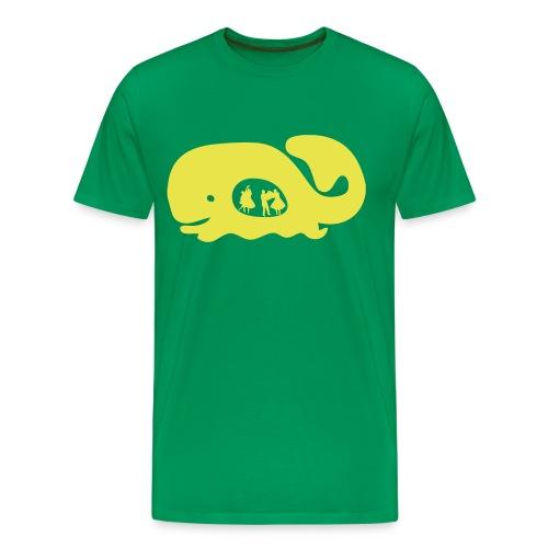 Festival m/ egen tekst - Premium T-skjorte for menn