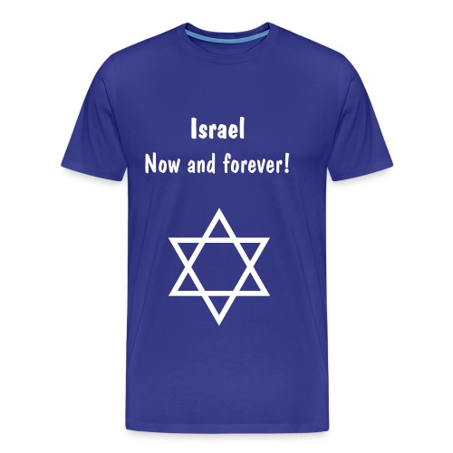 Men's Premium T-Shirt - Show your support, wear this beautiful t-shirt. The star is the star of David.
