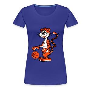 Shirt Basketballtiger - Frauen Premium T-Shirt