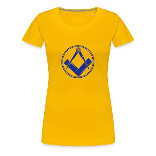 franc-maçonnerie - T-shirt Premium Femme