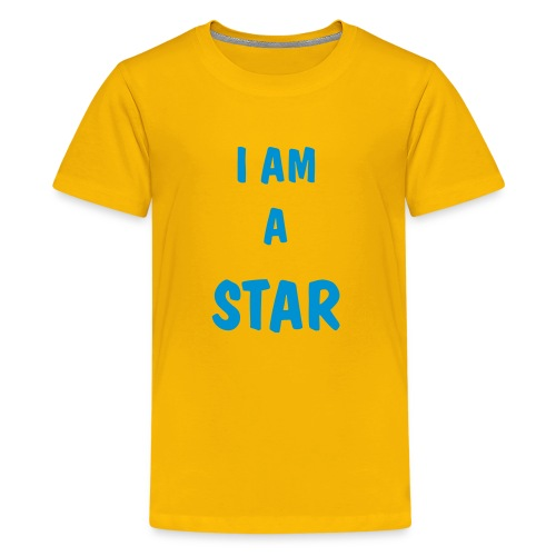 Star T-Shirt - Teenage Premium T-Shirt