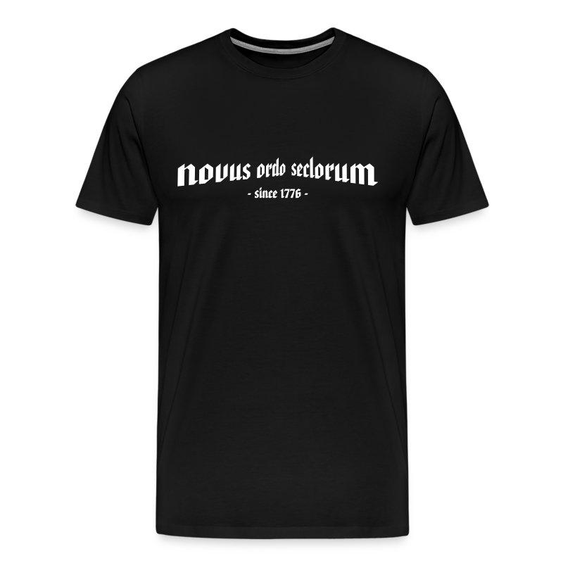 T-Shirt novus ordo seclorum - Männer Premium T-Shirt